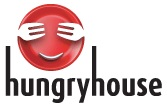 HungryHouse logo in the early days of all night alcohol delivery